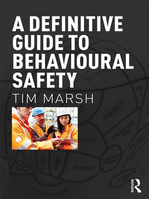 cover image of A Definitive Guide to Behavioural Safety