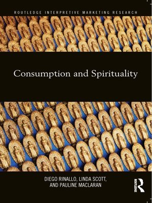 cover image of Consumption and Spirituality