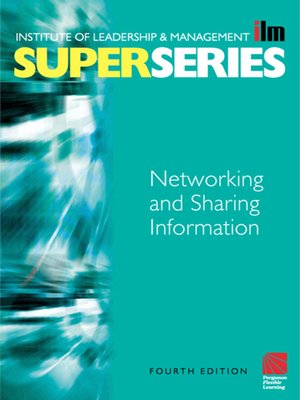 cover image of Networking and Sharing Information