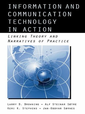 cover image of Information and Communication Technologies in Action