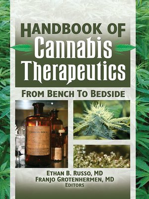 cover image of The Handbook of Cannabis Therapeutics