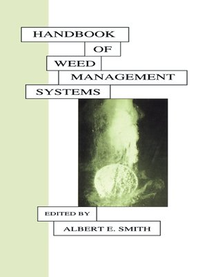 cover image of Handbook of Weed Management Systems
