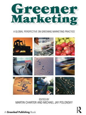 cover image of Greener Marketing
