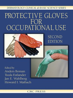 cover image of Protective Gloves for Occupational Use