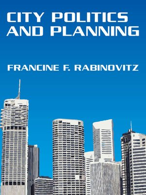 cover image of City Politics and Planning