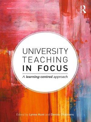 cover image of University Teaching in Focus