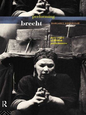 cover image of Performing Brecht