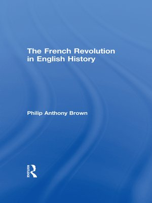 cover image of The French Revolution in English History