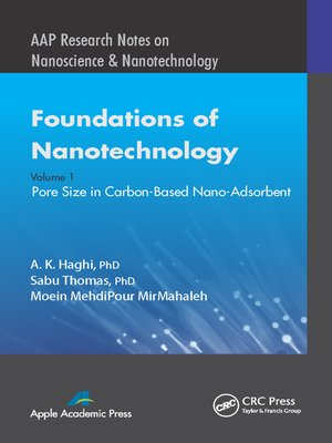 cover image of Foundations of Nanotechnology, Volume One
