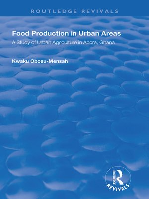 cover image of Food Production in Urban Areas