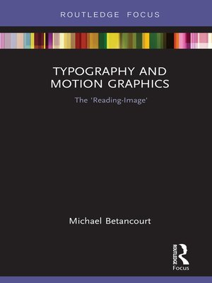 cover image of Typography and Motion Graphics