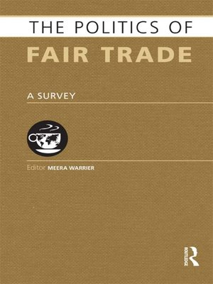 cover image of The Politics of Fair Trade
