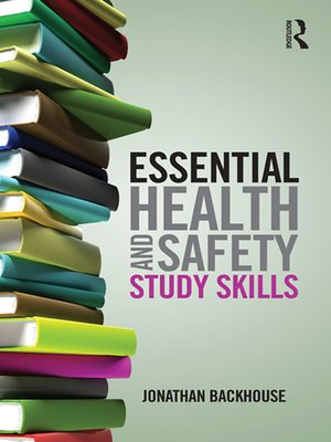 cover image of Essential Health and Safety Study Skills