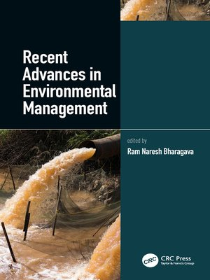 cover image of Recent Advances in Environmental Management