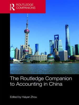 cover image of The Routledge Companion to Accounting in China