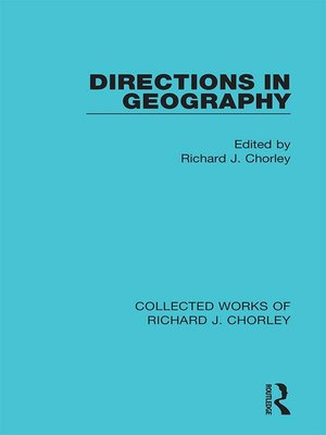 cover image of Directions in Geography