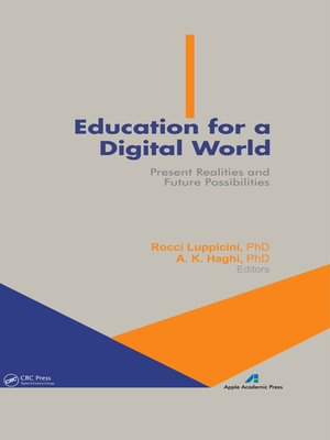 cover image of Education for a Digital World