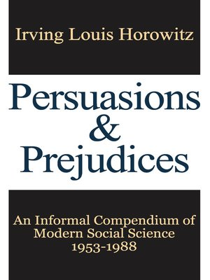 cover image of Persuasions and Prejudices