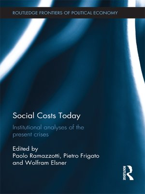 cover image of Social Costs Today