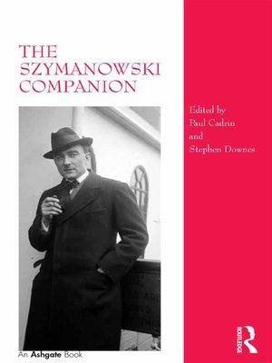 cover image of The Szymanowski Companion