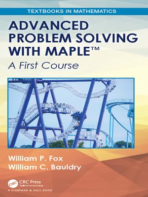 cover image of Advanced Problem Solving with Maple