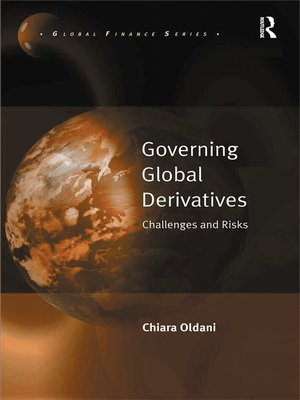 cover image of Governing Global Derivatives