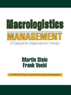 cover image of Macrologistics Management