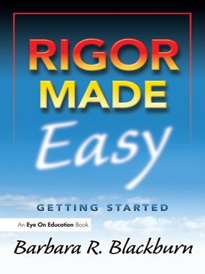 cover image of Rigor Made Easy
