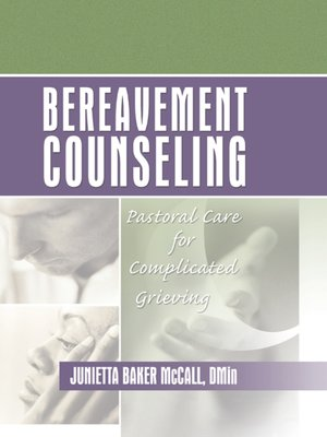 cover image of Bereavement Counseling