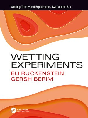 cover image of Wetting Experiments