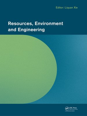 cover image of Resources, Environment and Engineering
