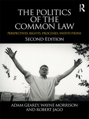 cover image of The Politics of the Common Law