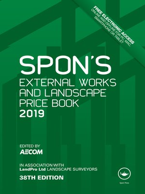 cover image of Spon's External Works and Landscape Price Book 2019