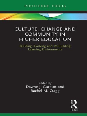 cover image of Culture, Change and Community in Higher Education