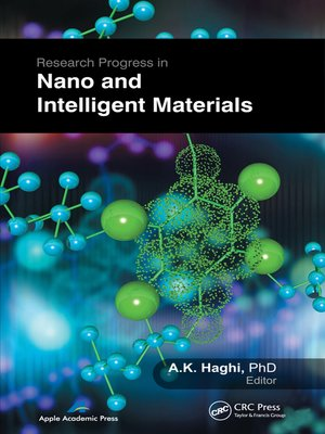 cover image of Research Progress in Nano and Intelligent Materials