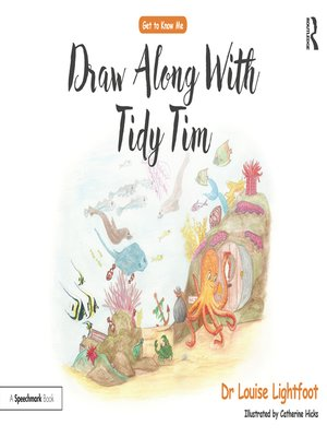 cover image of Draw Along With Tidy Tim