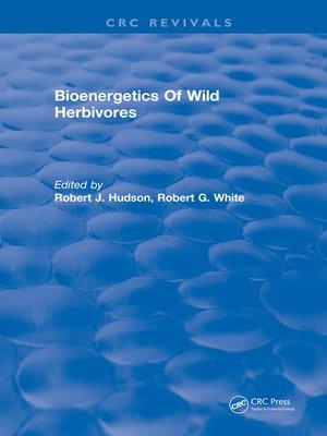 cover image of Bioenergetics of Wild Herbivores