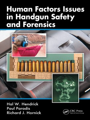 cover image of Human Factors Issues in Handgun Safety and Forensics