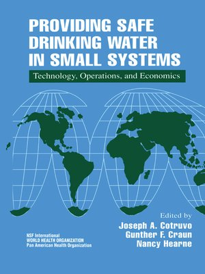 cover image of Providing Safe Drinking Water in Small Systems