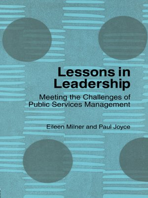 cover image of Lessons in Leadership