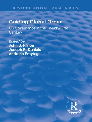 cover image of Guiding Global Order