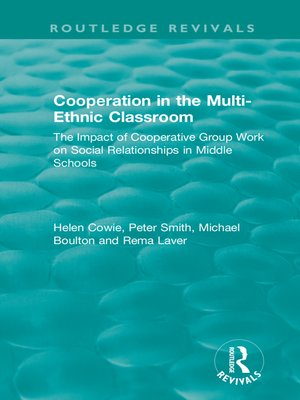 cover image of Cooperation in the Multi-Ethnic Classroom (1994)