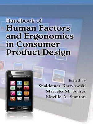 cover image of Handbook of Human Factors and Ergonomics in Consumer Product Design, 2 Volume Set