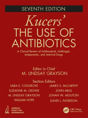 cover image of Kucers' the Use of Antibiotics