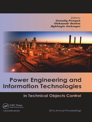 cover image of Power Engineering and Information Technologies in Technical Objects Control
