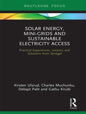cover image of Solar Energy, Mini-grids and Sustainable Electricity Access