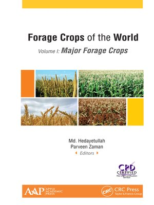 cover image of Forage Crops of the World, Volume I