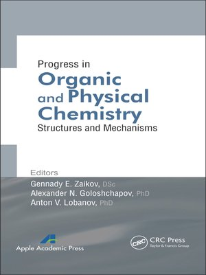 cover image of Progress in Organic and Physical Chemistry