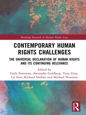 cover image of Contemporary Human Rights Challenges