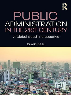 cover image of Public Administration in the 21st Century
